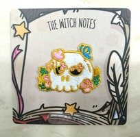 Cardlover The Witch Hunt Skull Embroidery Patch