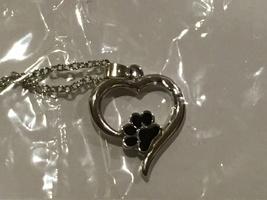 Black Cat Paw Necklace