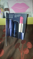 Estēe Lauded Pure Color Envy lipstick sample card