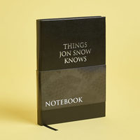 Things Jon Snow Knows Notebook (Game of Thrones)