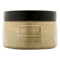 Cocoage Cocoa Powder 24K Gold Body Scrub – Brown Sugar