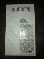 Black flower jamberry