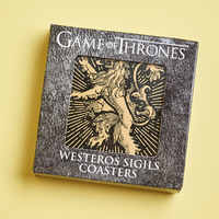 Game of Thrones Westeros Sigil Coaster Set