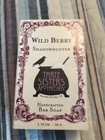 Three Sisters Apothecary wild berry shadow hunter soap