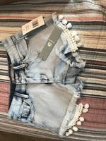 Tractr lt indigo Jean shorts