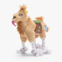 Sahara Sam the Camel plush dog toy