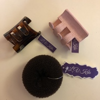 Hair Clip lot of 3