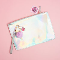 Quirky Girl Holographic Ice Cream Clutch