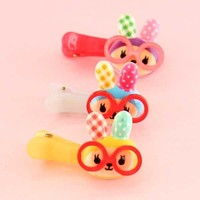Blippo Geeky Animals Hairclips