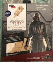 Incredibuilds Assassin's Creed Hidden Blade Wood Model