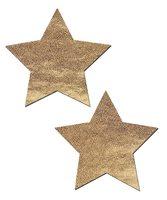 Pastease Liquid Gold Star Nipple Pasties