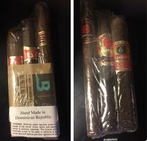 E.P Carillo Cigar Set and extra Boveda Humidor Bag