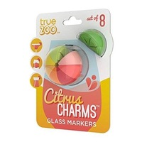 Citrus Charms Glass Markers