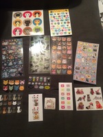 Various Cat stickers from Pipsticks & Sticker Mom