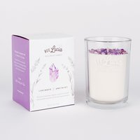 Bee Lucia lavender & amethyst wellness candle