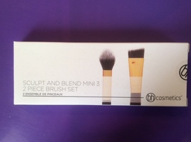 BH Cosmetics Sculpt + Blend Mini 2 Piece Brush Set