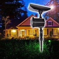 Waterproof Outdoor Cordless Star Laser Lights (Red)
