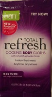 Ban Total Refresh Cooling Body Cloth