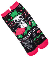 Funko The Nightmare Before Christmas Jack Skellington Snowman Socks Disney Tim Burton Ugly Sweater