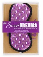 NPW Sweet Dreams Journal and Sleep Mask