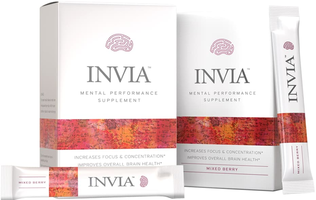 Invia Supplement in Mixed Berry