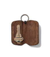 Kiko Leather Fionte Leather Key Holder