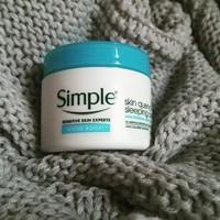 Simple Skincare Skin Quench Sleeping Cream