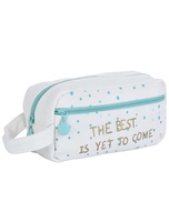 The best is yet to come cosmetic pouch