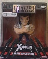 X-Men Logan Wolverine Metal Die Cast Figure
