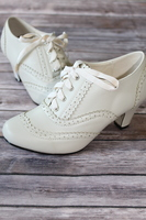 Dance It Up Heel in Cream