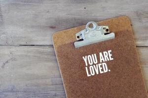 """""""you are loved"""" white vinyl decal sticker"""