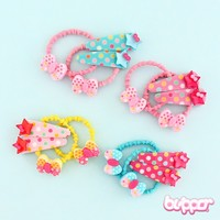 Pastel Hair Loops & Pins