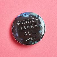 Nyxia button pin