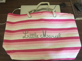 Little Marcel beach tote