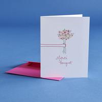 Merci Bouquet Card