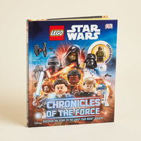 "LEGO Star Wars ""Chronicle of the Force"" Collectible Book & Figure"