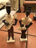Cuban wood figurines