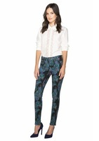 Marchesa Feather Jeans