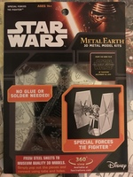Star Wars Metal Earth 3D Metal Model Kit - Special Forces Tie Fighter