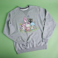 Sanrio Multi-Character Crew Neck Sweatshirt