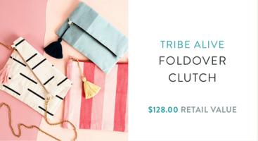 Tribe Alive Clutch Purse