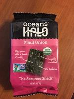 Ocean's Halo Maui Onion Seaweed Snack