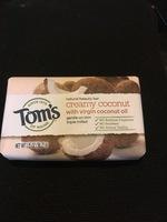 Tom Creamy Coconut Natural Beauty Bar