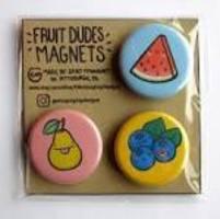FRUIT DUDES MAGNETS 3 PIECE