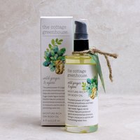 The Cottage Greenhouse Wild Ginger & Agave Moisture-Rich Dry Body Oil