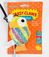 Sergeant's Flippy Fish wand cat toy