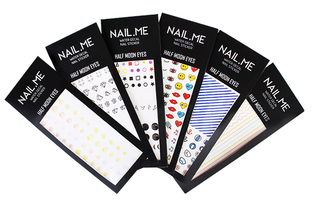 HALF MOON EYES NAIL.ME WATER DECAL NAIL STICKER