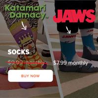 King of All Cosmos Katamari Damacy Socks