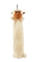 """Petlou 17"""" Flat Fleece Monkey Dog Toy"""