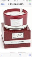 D.L. & Co. L'HOMME 13.5 oz 3 Wick Candle Red - Fireside Embers